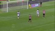Dybala colpisce la traversa contro il Genoa
