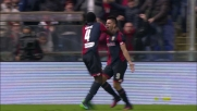 Il goal di Simeone porta in vantaggio il Genoa contro la Juventus