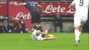 Hallfredsson in tackle ruba palla a Ranocchia e lancia il contropiede dell'Hellas