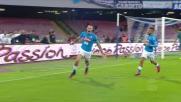 Hamsik fa esplodere il San Paolo con il goal del vantaggio sulla Lazio