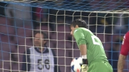 Hamsik manca il tris sbagliando un rigore contro il Cagliari: traversa!