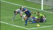 Handanovic è insuperabile, nega il goal all'Inter sulla botta di Ibrahimovic