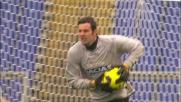 Handanovic ipnotizza Lichtsteiner a un passo dal goal per la Lazio