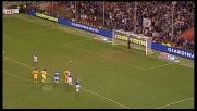 Handanovic neutralizza il rigore di Cassano in Sampdoria-Udinese