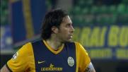 Handanovic para il rigore a Toni anche a Verona