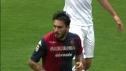 Handanovic respinge il colpo di testa di Pinilla