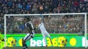 Handanovic vola contro l'Udinese