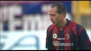 Handanovic vola sulla punizione di Adailton e chiude la porta dell'Udinese