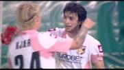 Palermo di nuovo in goal con la zampata di Pastore sul cross di Balzaretti