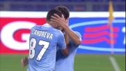 Hernanes sblocca il risultato tra Lazio e Milan con un tiro deviato