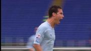 Hernanes segna il goal del pareggio in Lazio-Catania