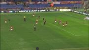 Thiago Ribeiro grazia la Roma, il suo tiro centra il palo