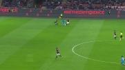 Higuain fa un controllo pazzesco e si invola verso la porta del Milan