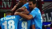 Higuain piega le mani ad Abbiati: goal del Pipita a San Siro