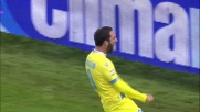 Higuain segna il goal dell'1-0 contro la Lazio all'Olimpico di Roma