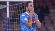 Higuain vicino al goal al San Paolo con l'Udinese