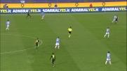 Hoedt sbaglia il rinvio e rischia l'autorete: la traversa salva la Lazio