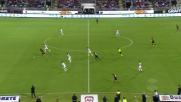 Il tacco di Borriello smarca Joao Pedro contro la Sampdoria