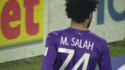 Salah immarcabile dribbla tutta la difesa del Verona
