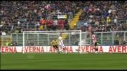 Rubinho nega il goal a Miccoli con una splendida parata