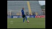 Quagliarella segna il goal vittoria per l'Udinese a Empoli