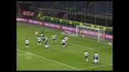 Il goal di Cordoba porta in vantaggio l'Inter contro il Genoa