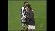 Fallo di Camoranesi contro l'Udinese, piede in faccia a Felipe