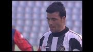 Di Natale risponde al goal di Leon pareggiando i conti per l'Udinese