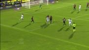 Hamsik sfrutta un rimpallo per segnare il goal della vittoria contro il Cagliari