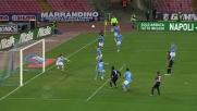 Il goal di Larrivey tiene a galla il Cagliari contro il Napoli