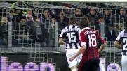 Allo Juventus Stadium Montolivo prova il tiro dalla diastanza ma la palla finisce tra le braccia di Buffon