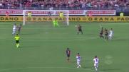 Tocco decisivo di Rafael sul tiro di Falcinelli, gran parata del portiere del Cagliari