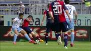 Brkic rimedia al suo errore parando il tiro di Felipe Anderson