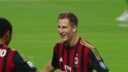 Contro l'Udinese Birsa decide il match con un goal meraviglioso