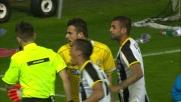 Danilo solleva in scivolata Kovacic causando il rigore per l'Inter