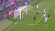 Colpo di testa a lato di Icardi, l'Inter manca il goal contro il Cagliari