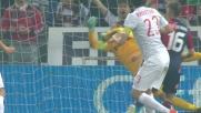 Handanovic strepitoso sul tiro ravvicinato di Lestienne