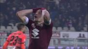 """I riflessi di Lamanna negano il goal al """"Gallo"""" Belotti!"""