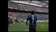 I saluti finale di Luis Figo alla Milano nerazzurra