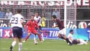 I tentativi di Inzaghi vengono respinti prima da Viviano e poi dal palo in Milan-Bologna
