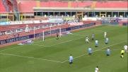 I tentativi di Marco Rossi contro il Catania vanno a sbattere sulla traversa e su Andujar