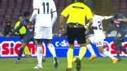 Iago Falque complica le cose al Napoli con un goal da fuori area