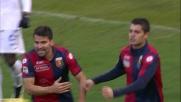 Iago Falque trasforma il rigore dell'1-2: partita riaperta tra Genoa e Atalanta