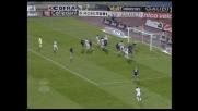Iaquinta con un tocco fortunoso segna il goal del 2-4 tra Udinese e Lazio