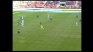 Iaquinta davanti alla porta colpisce male e sbaglia clamorosamente un goal contro l'Inter