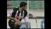 Iaquinta in spaccata, chance clamorosa fallita dall'Udinese