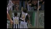 Iaquinta porta in vantaggio l'Udinese contro il Cagliari con un goal da opportunista