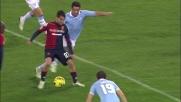 Dribbling e goal per Sau all'Olimpico contro la Lazio