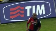 Ibarbo, goal di rapina su respinta di Romero