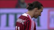 Ibra prova a piazzare il pallone, traversa in Milan-Chievo